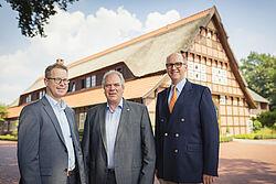 Lars Vornhusen, Siegbert Bullermann y Bernd Meerpohl