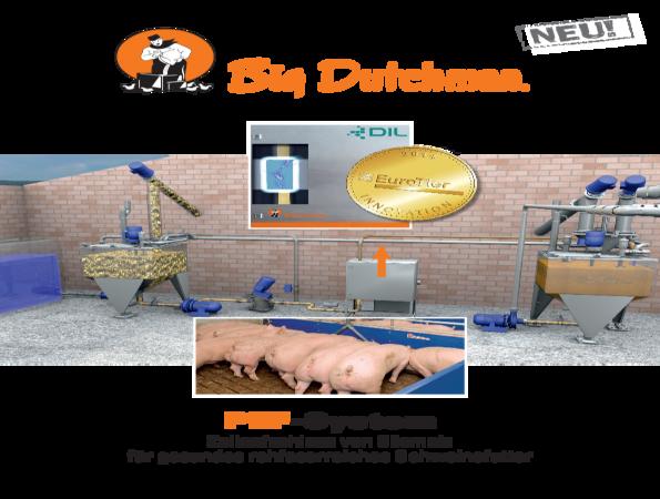Flyer: PEF-System für die Flüssigfütterung in der Schweinehaltung