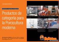 Productos de categoría para la Porcicultura moderna
