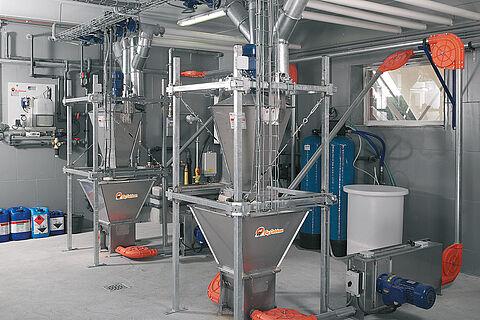 Alimentación seca DryExact pro