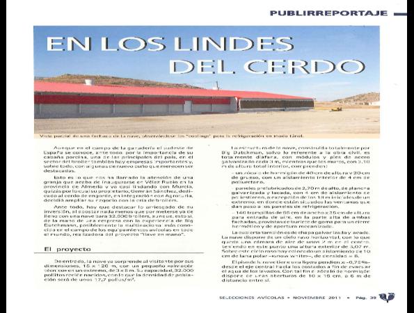 Si desea más información consulte aquí el artículo completo de la revista Selecciones Avícolas, Noviembre 2011