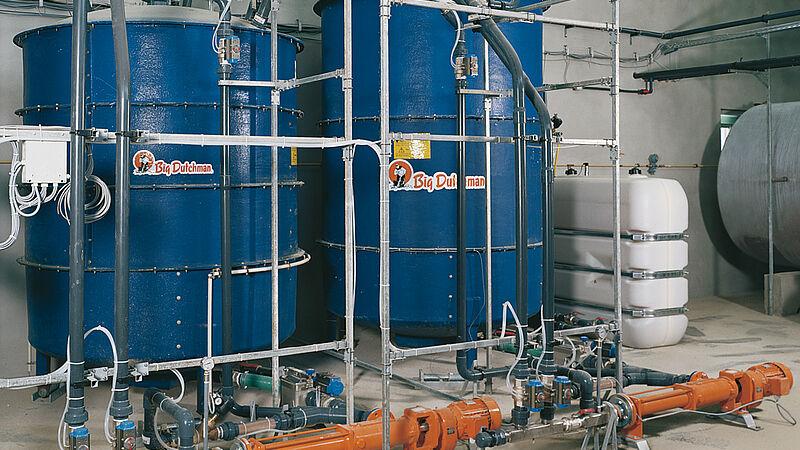 Sistemas de alimentación: Alimentación líquida HydroMix