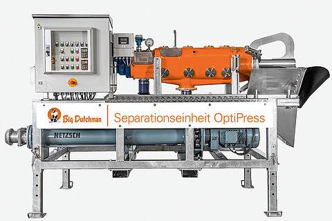 Separador con sinfín de presión OptiPress