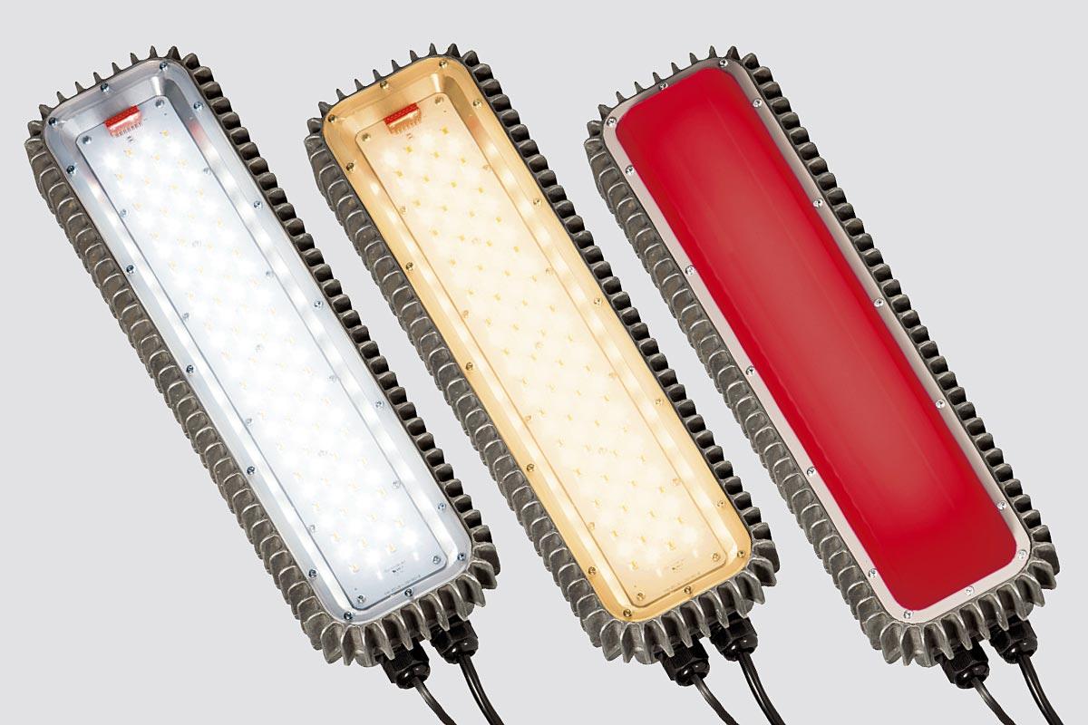 Por primera vez, la luminaria LED Zeus permite reemplazar componentes individuales Manejo de